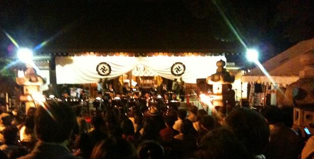 松陰神社のお祭り2